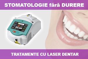 tratamente laser dentar